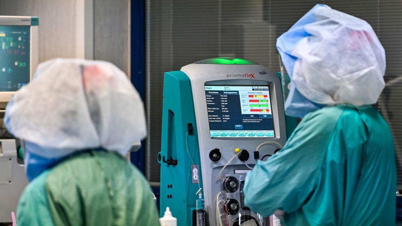 Sans rien changer au protocole de dialyse, Mexbrain introduit dans l'eau, de l'autre côté de la membrane, un biopolymère à base de chitosan, utilisé comme une éponge à métaux.