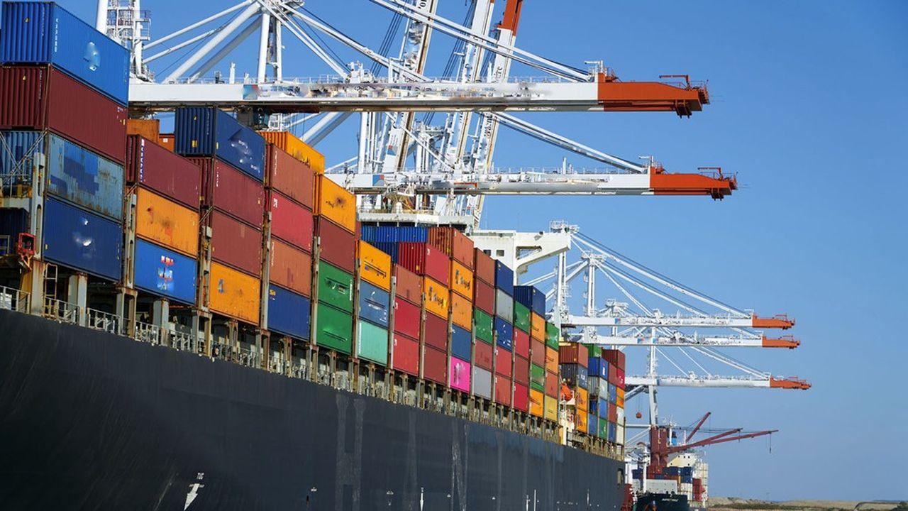 En août2020, les échanges extérieurs de la France «restent globalement à un niveau proche de juillet», expliquent les services des Douanes.