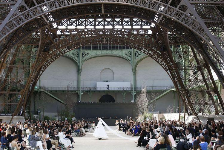 Défilé Chanel Haute-Couture Automne Hiver 2017-2018.