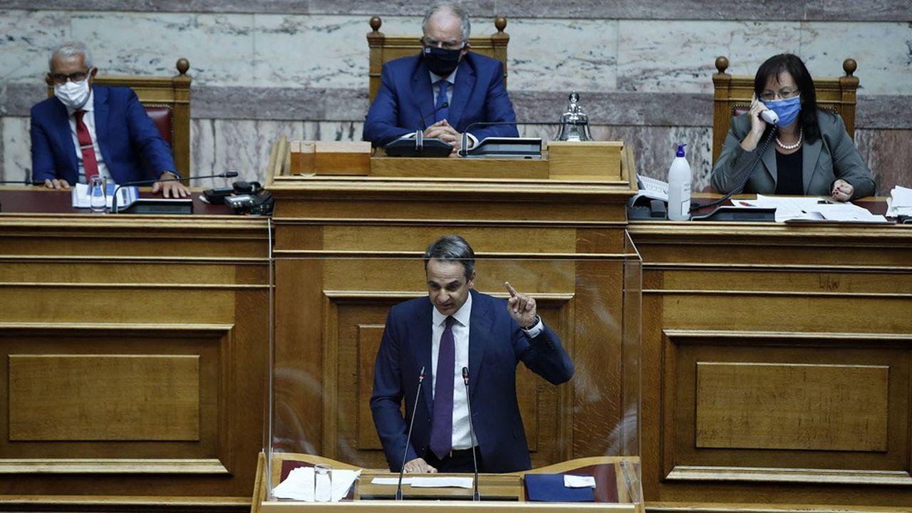 Le programme de réformes et de privatisations du Premier ministre libéral, Kyriákos Mitsotákis, a été contrarié par la crise liée au coronavirus.