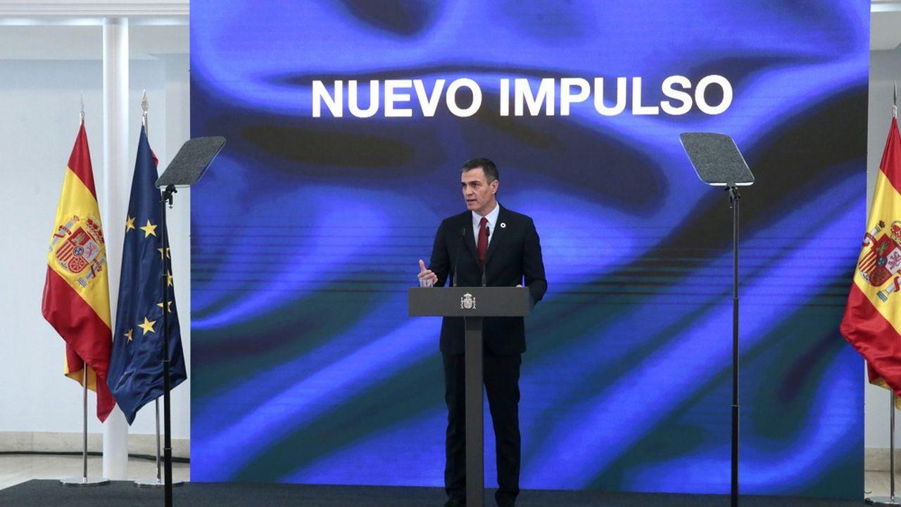 Le chef du gouvernement espagnol, Pedro Sánchez, a présenté son plan de relance mercredi. Il sera présenté à Bruxelles dans les prochains jours.