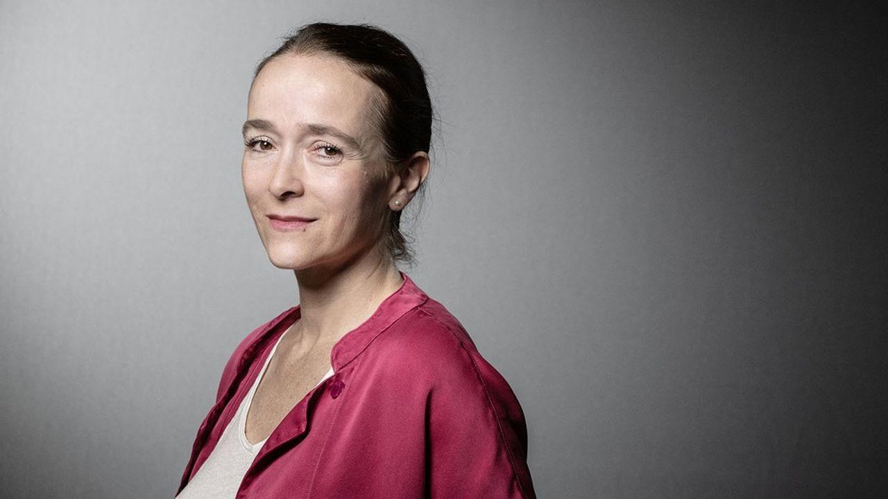 Delphine Ernotte Cunci est la première femme élue à la présidence l'Union européenne de radio-télévision (UER).. (Photo by JOEL SAGET / AFP)