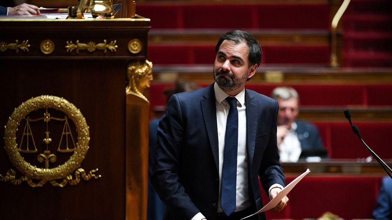 Le rapporteur général du Budget à l'Assemblée, le député LREM Laurent Saint-Martin.
