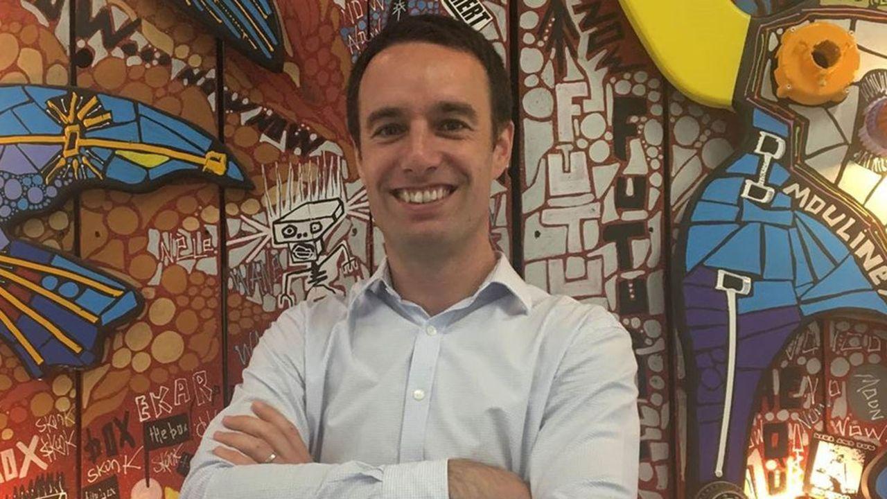 Matthieu Somekh, directeur de l'incubateur ZeBox créé à Marseille par l'armateur CMA CGM.