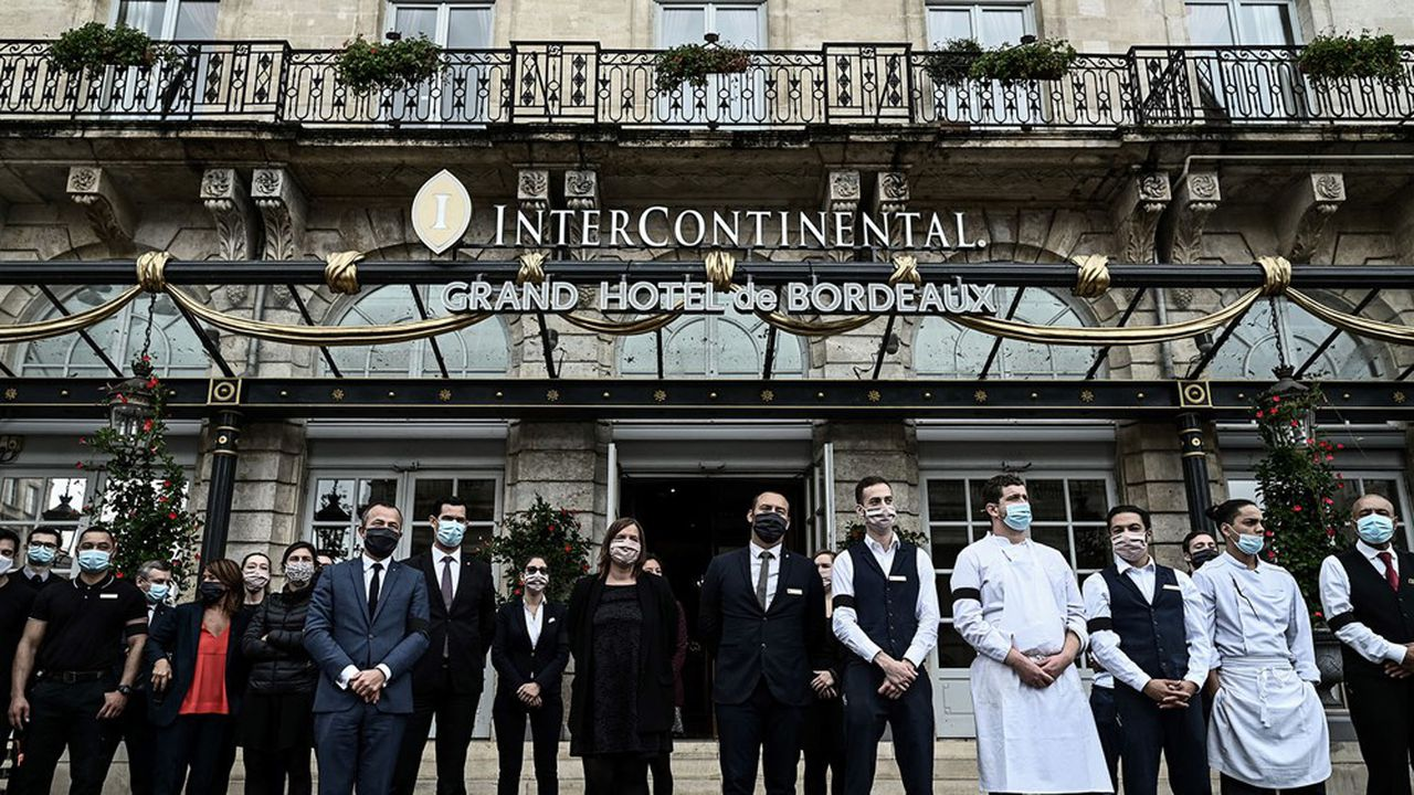 Selon le cabinet MKG, le taux d'occupation moyen des hôtels en France s'est établi à 44,4% en septembre, soit un recul de près de cinq points par rapport à un mois d'août.