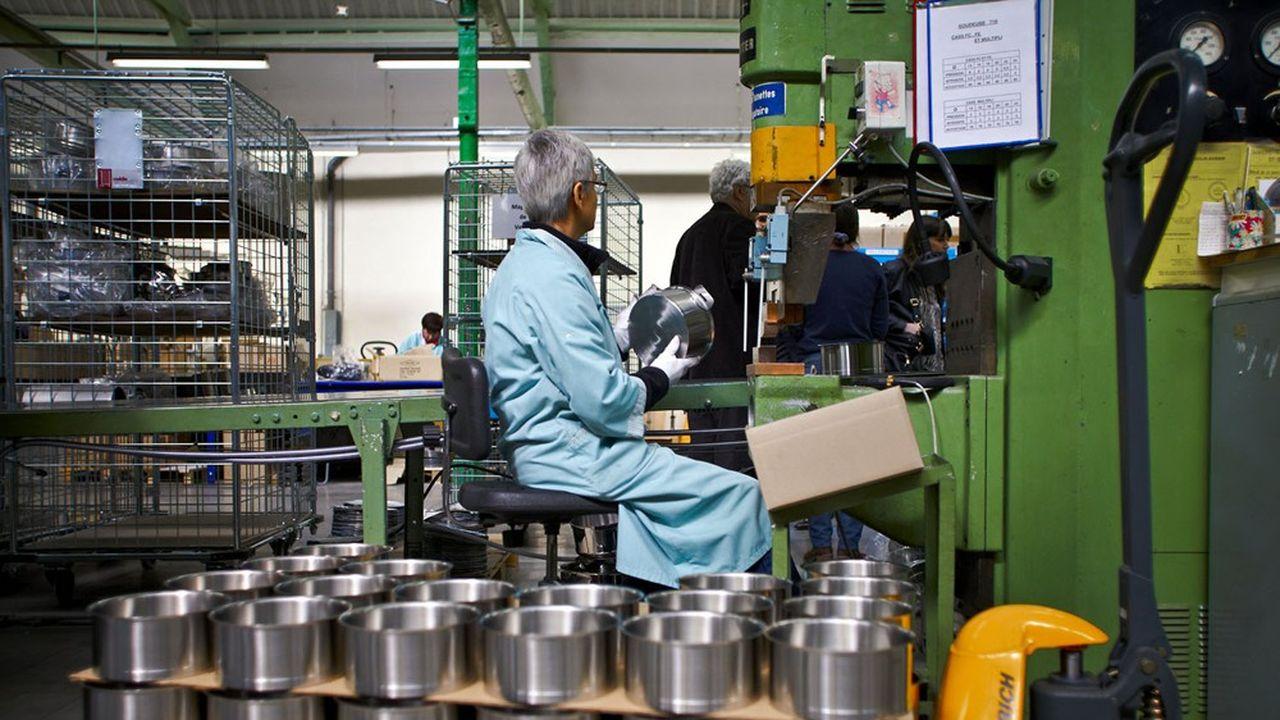 Usine Cristel. Le fabricant de casseroles franc-comtois coche toutes les cases de la RSE, du made in France au développement durable.