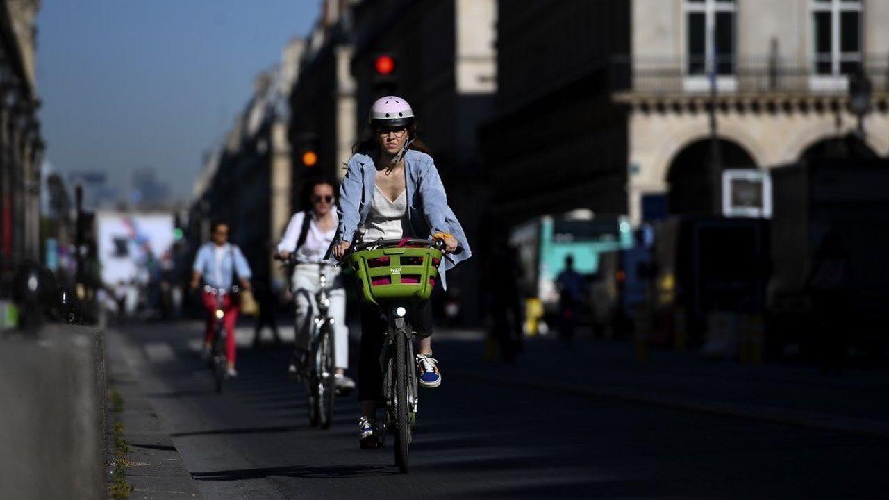 La pratique du vélo s'est nettement intensifiée à la rentrée à Paris.