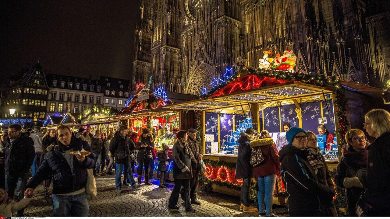 En temps normal, le marché de Noël de Strasbourg attire quelque deux millions de visiteurs en un mois.