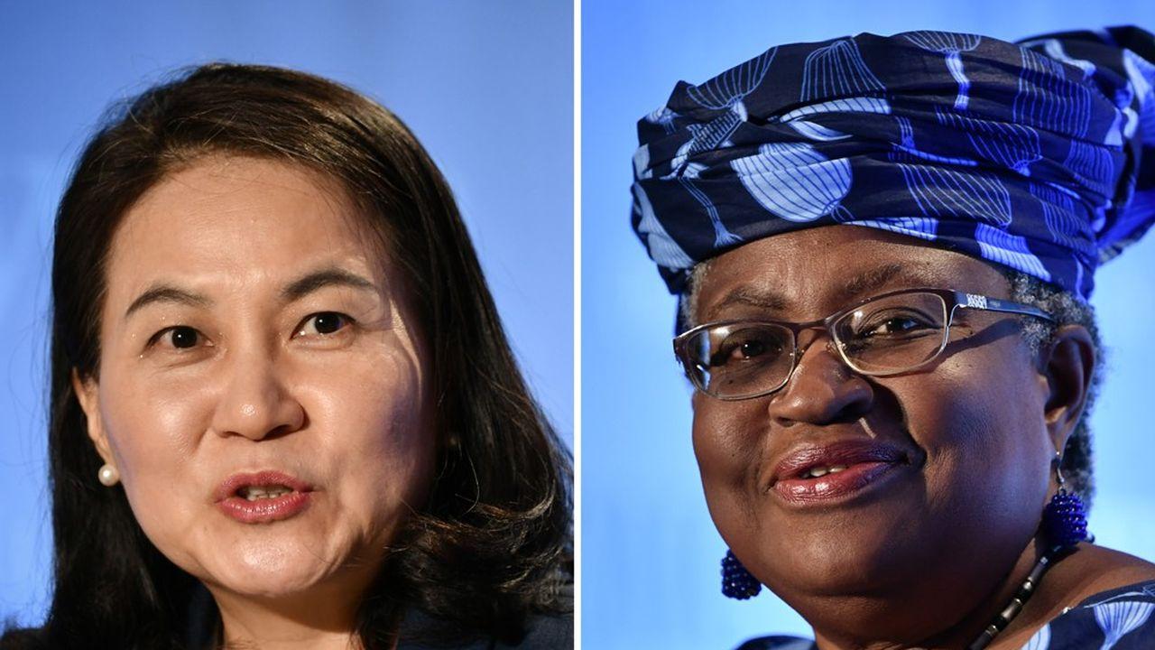 La Sud-coréenne Yoo Myung-hee et la Nigériane Ngozi Okonjo-Iweala sont les dernières candidates en lice pour diriger l'OMC