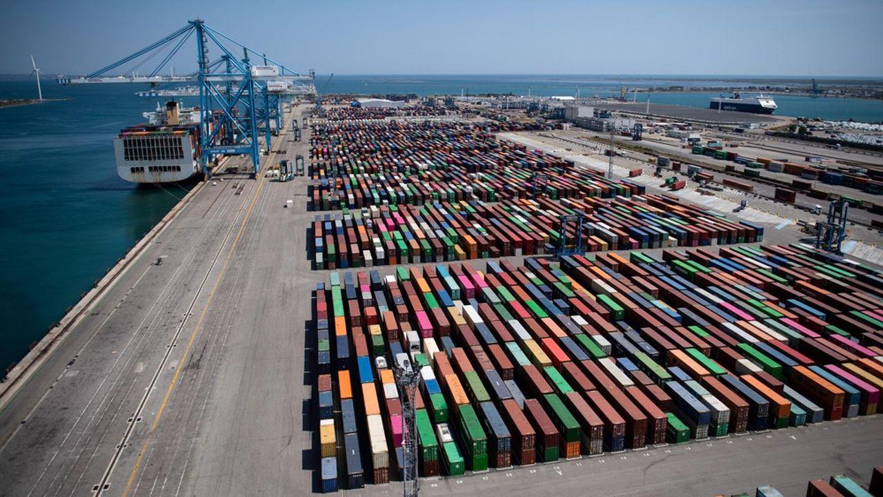 Le port de Marseille-Fos a été touché par la grève à répétition menée pendant l'hiver 2019/2020, avant d'enchaîner sans transition sur la chute d'activité sans précédent liée au Covid-19