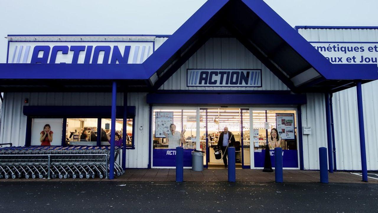Action ouvre normalement une centaine de magasins chaque année en France. En 2020, ce sera 40 seulement.