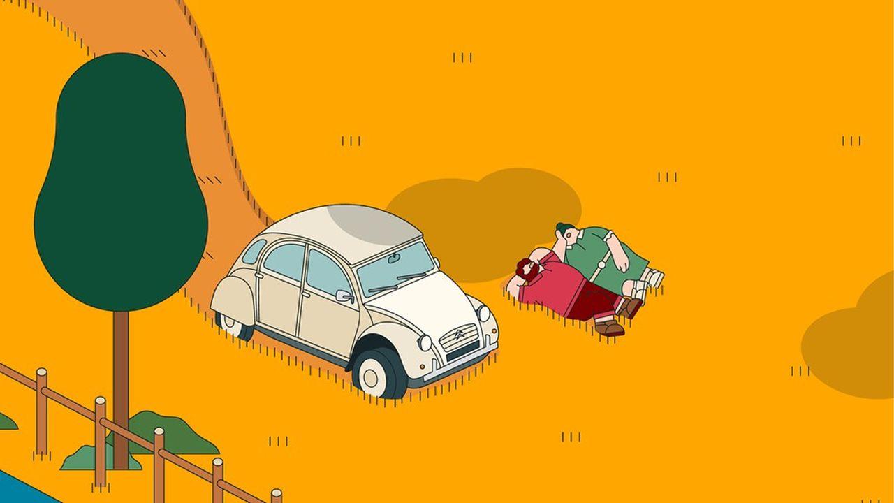Plus de 100.000 2CV roulent encore en France.