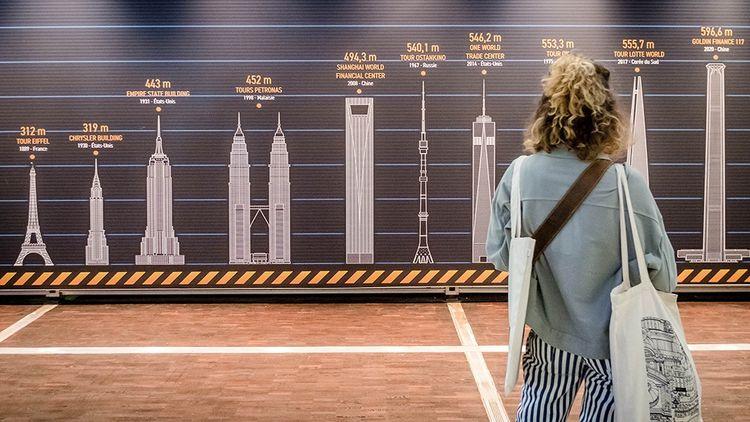 « XXHL, giga tours et méga ponts », à la Cité des sciences et de l'industrie.