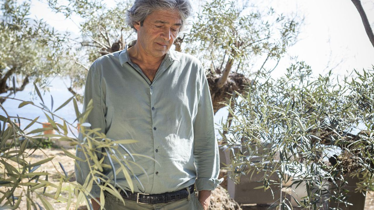 Rudy Ricciotti, architecte, dans sa maison de Cassis.