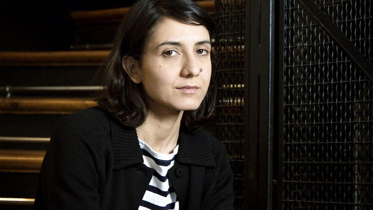 Ottessa Moshfegh, écrivaine américaine multirimée aux Etats-Unis.