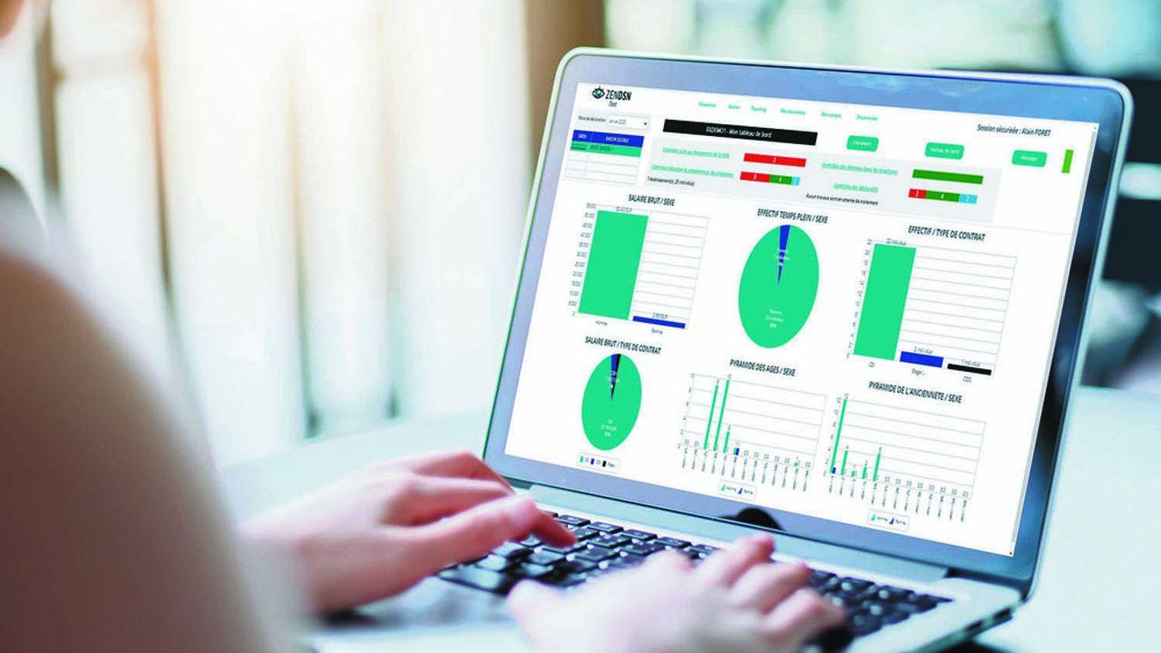 L'outil en ligne ZENDSN détecte les éventuelles anomalies, qui apparaissent sur un tableau de bord avec des codes couleur, afin de les corriger.
