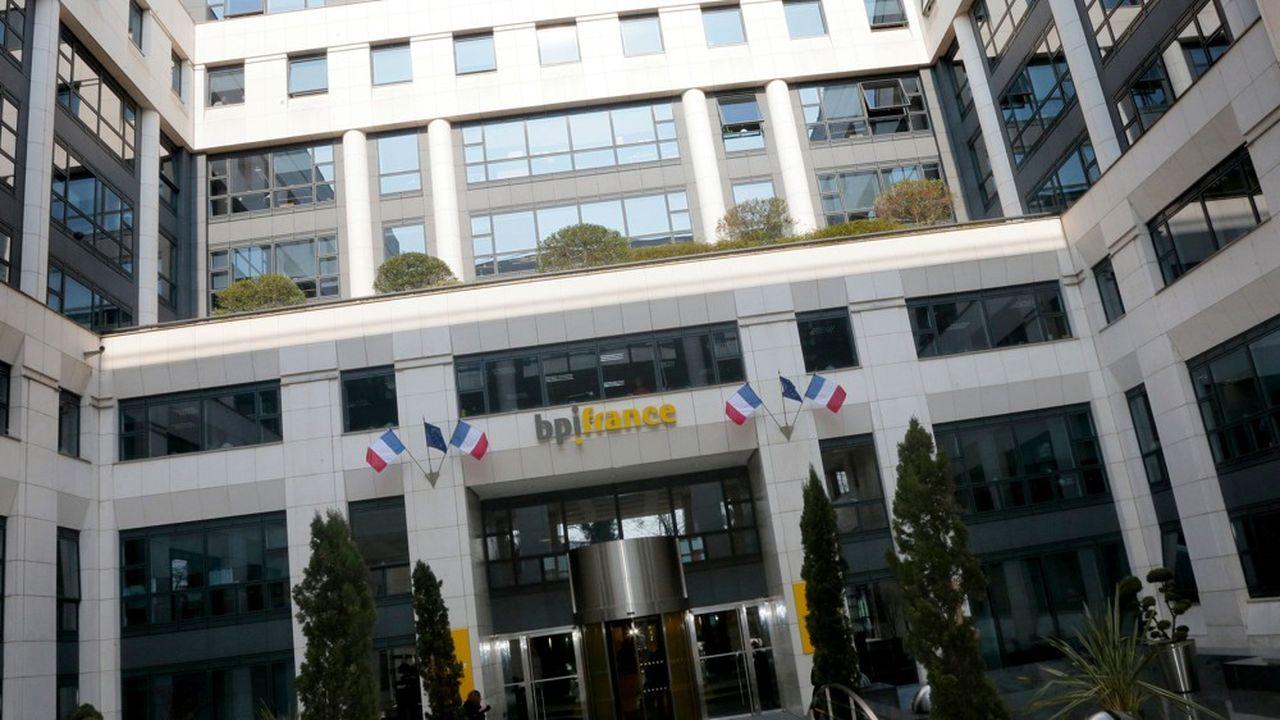Le siège de bpifrance à Maisons-Alfort, près de Paris.