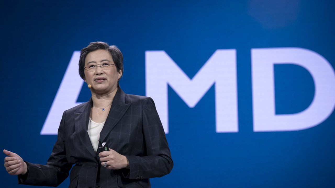 Dirigée par Lisa Su, AMD a vu sa capitalisation boursière progresser de 89% cette année, en dépit de la crise. Elle dépasse aujourd'hui les 100milliards de dollars.