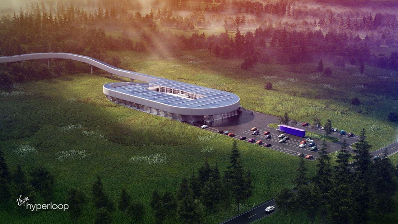Hyperloop se donne moins de cinq ans pour certifier un train capable de transporter des passagers et du fret à 1.000 kilomètres/heure.