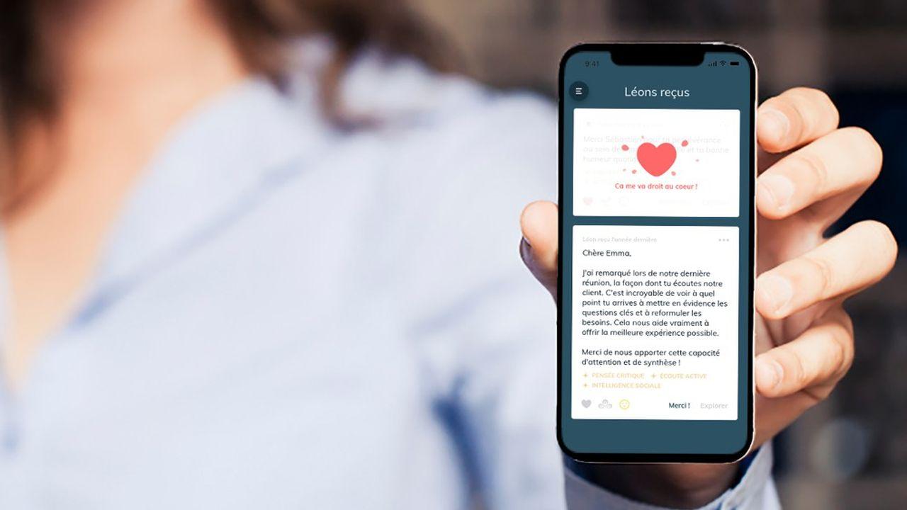 L'application Listen Léon permet d'envoyer des messages bienveillants et anonymes à ses collègues et à ses proches.
