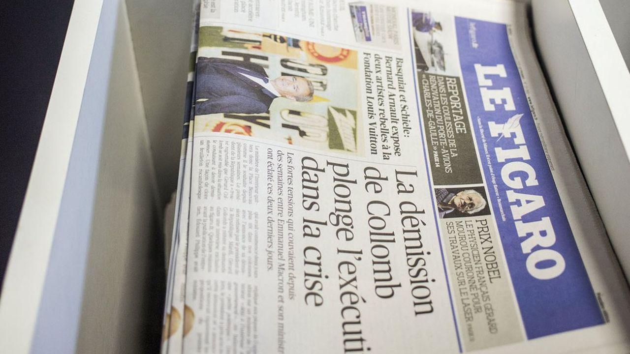 Le groupe Le Figaro croit encore au papier mais veut accélérer dans le numérique.