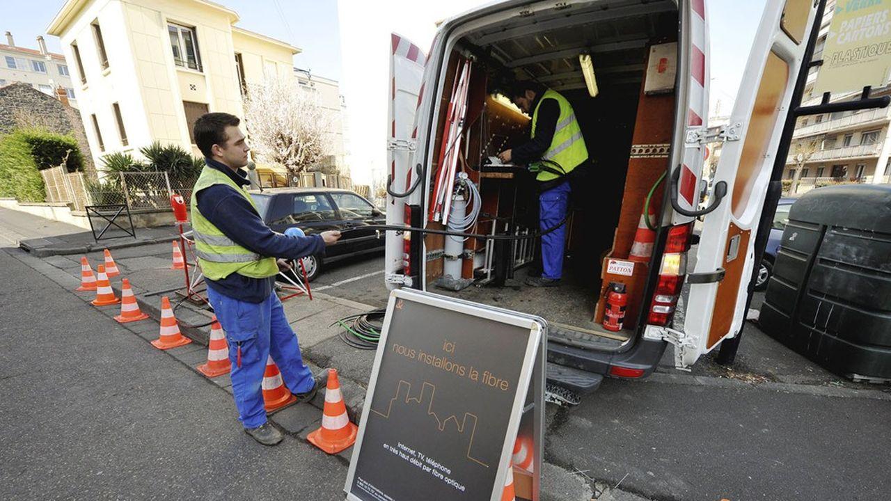 20millions de foyers français sont aujourd'hui éligibles à la fibre.