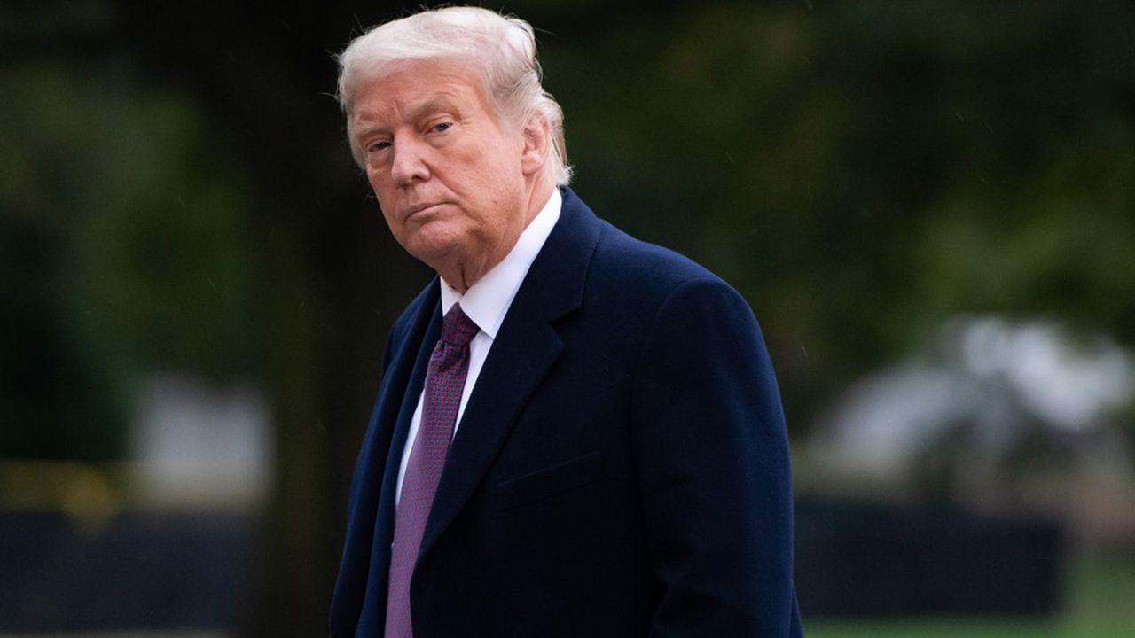 Donald Trump veut mettre les bouchées doubles àquelques semaines de l'élection américaine