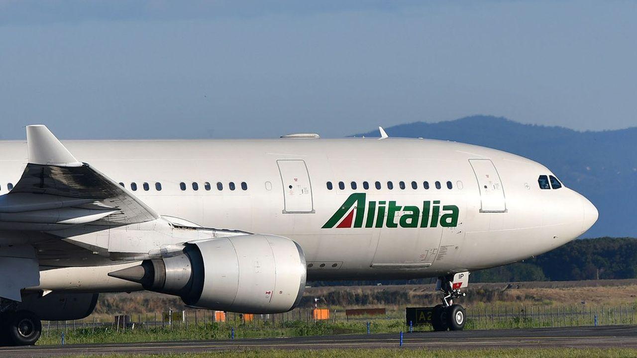 Alitalia : le gouvernement italien met enfin en piste la nationalisation