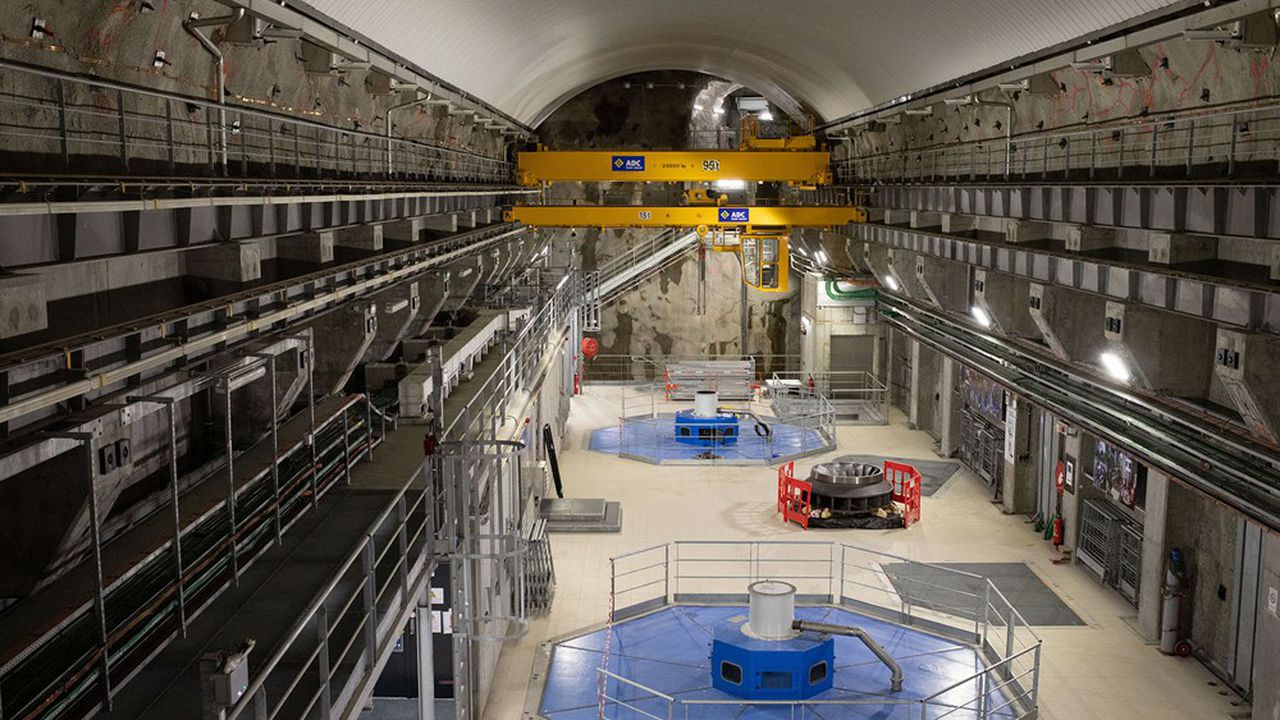 Ce chantier était le plus gros projet d'EDF dans l'hydroélectricité en France