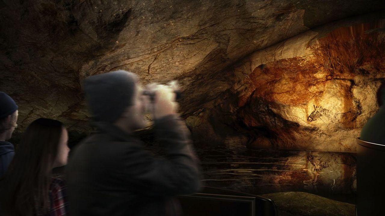 Projet de la réplique grotte Cosquer