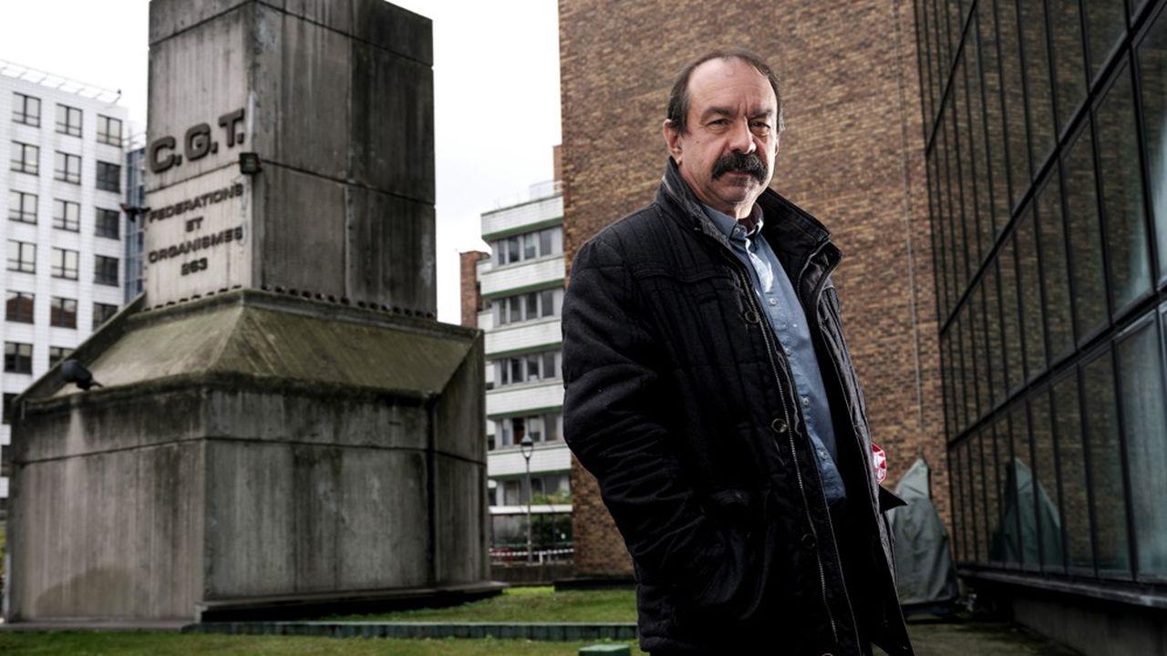 Philippe Martinez, secrétaire général de la Confédération générale du travail depuis 2015.