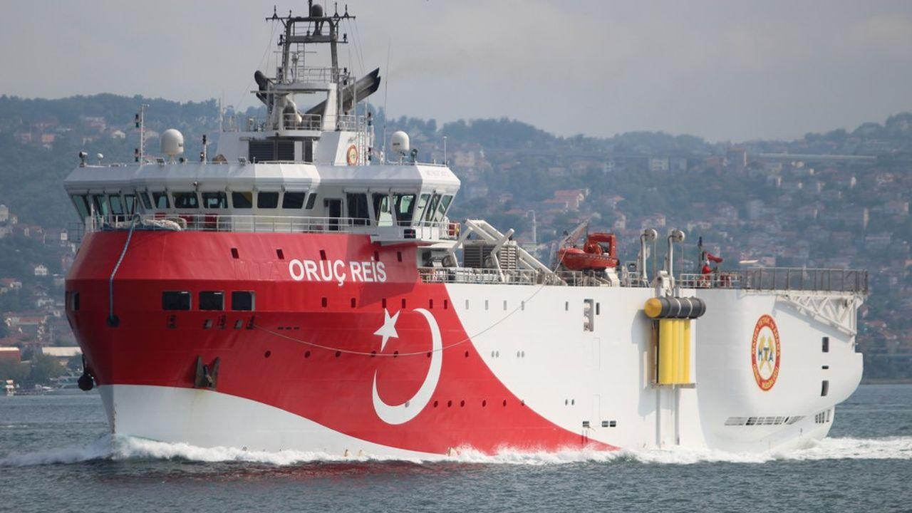 Le navire d'exploration turc Oruc Reis sera en Méditerranée orientale «du 12 au 20octobre», a annoncé la marine turque.