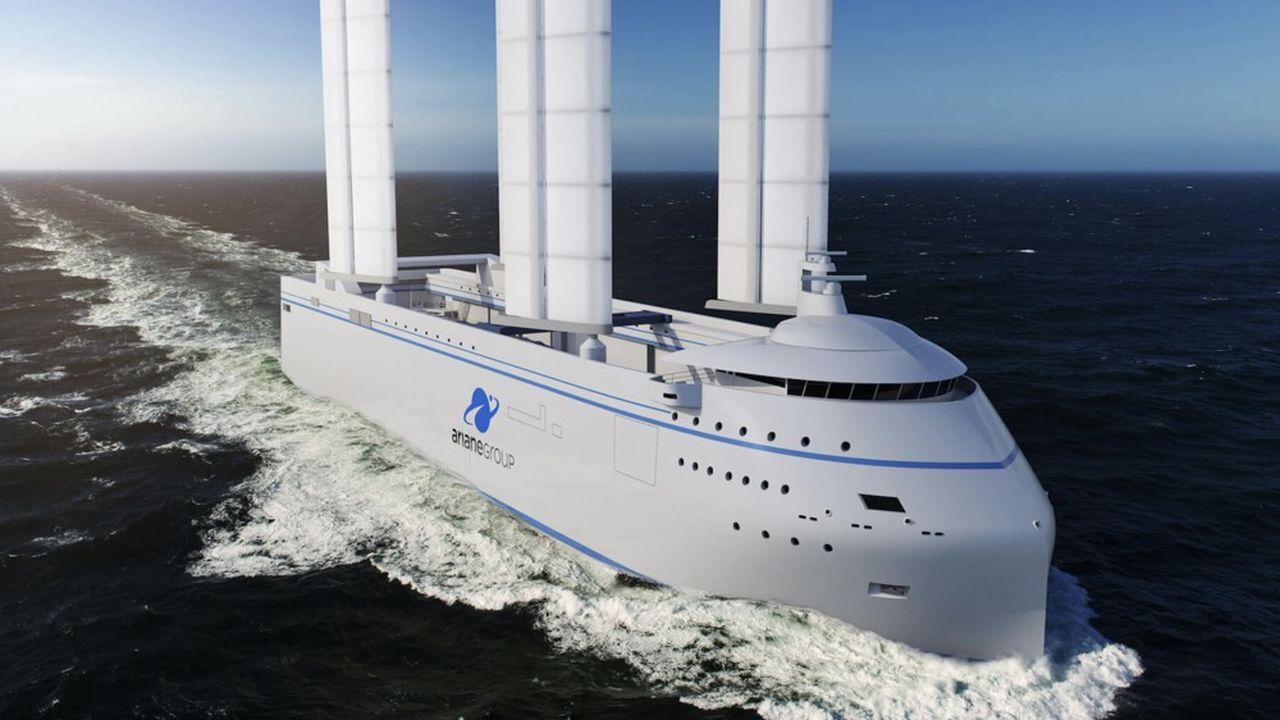 Zéphyr & Borée a confié le design du navire à VPLP, qui s'est maintes fois illustré dans la course au large.