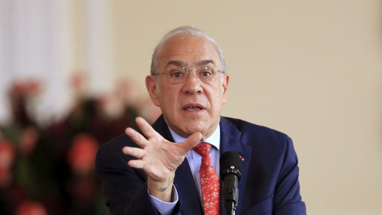 Angel Gurria, le secrétaire général de l'OCDE enjoint les Etats à trouver une solution consensuelle sur la fiscalité numérique au risque de déclencher une guerre commerciale.