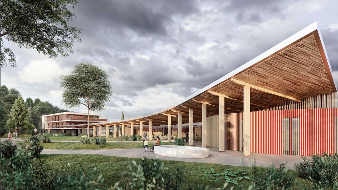 De nouveaux espaces de soins, un spa et quatre salles d'activités sont notamment prévus.