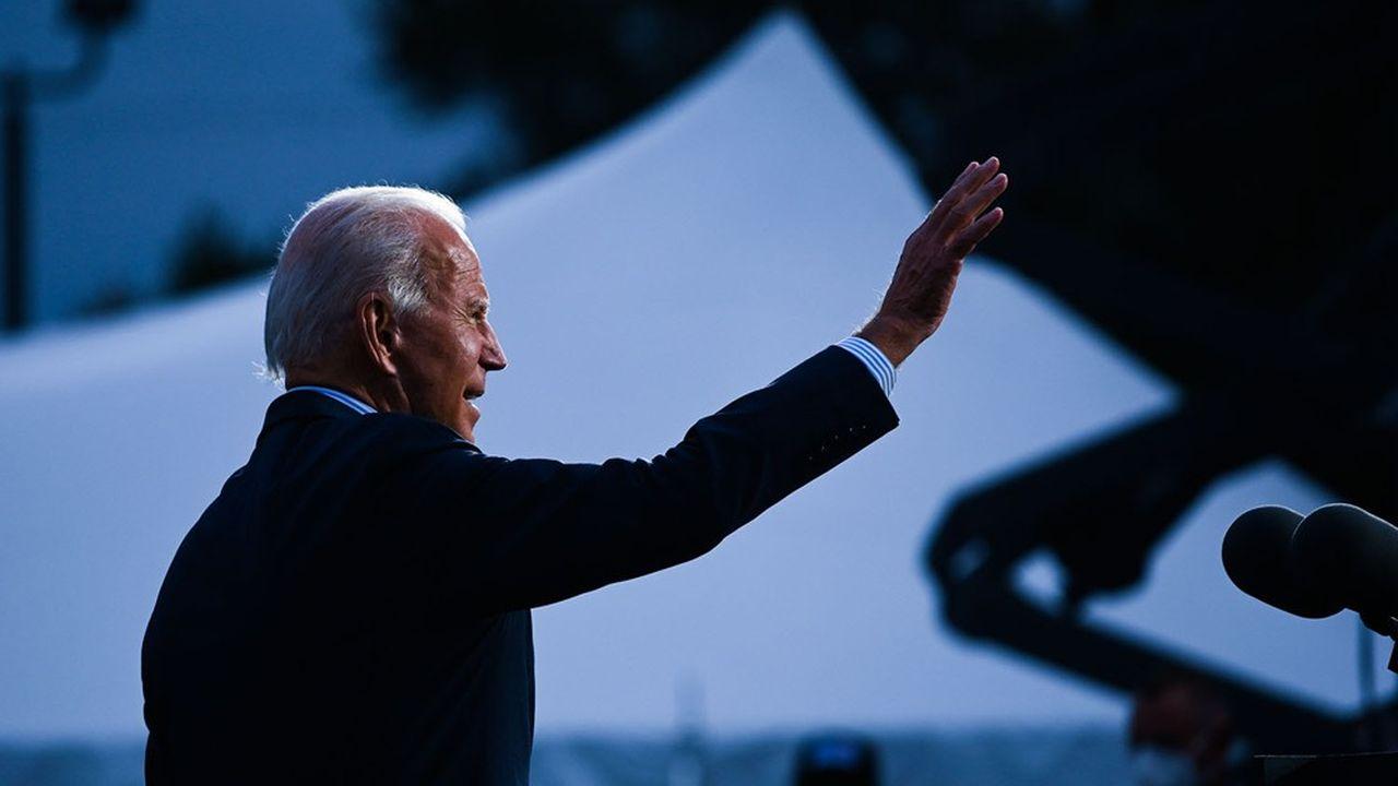 L'avance de Joe Biden, candidat démocrate à la présidentielle américaine, dans les sondages semble lever l'incertitude des marchés.