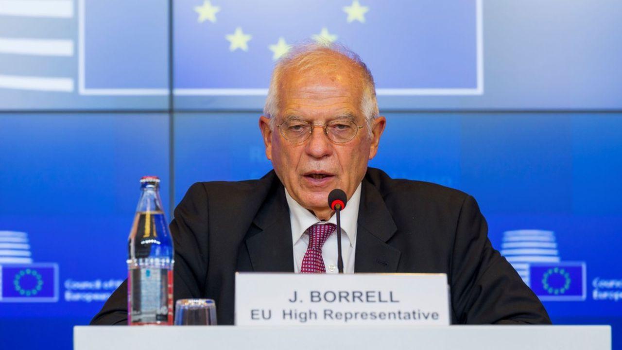 Josep Borrell, le Haut représentant de l'Union européenne pour les Affaires étrangères, a assuré que les Européens avaient été unanimes dans leur volonté de renforcer les mesures contre le régime biélorusse.