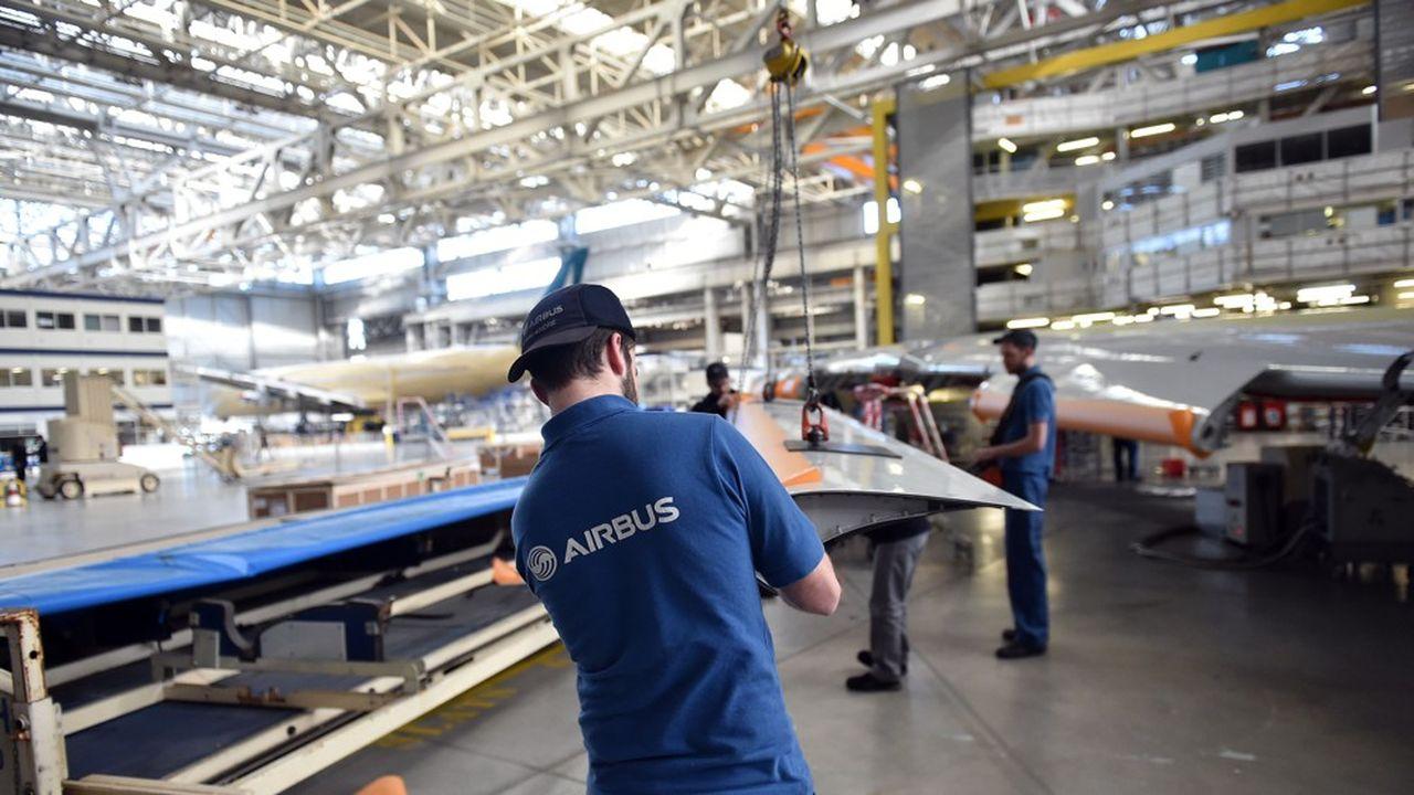 Airbus a prévu de réduire ses effectifs d'environ 30% en France et dans le monde.