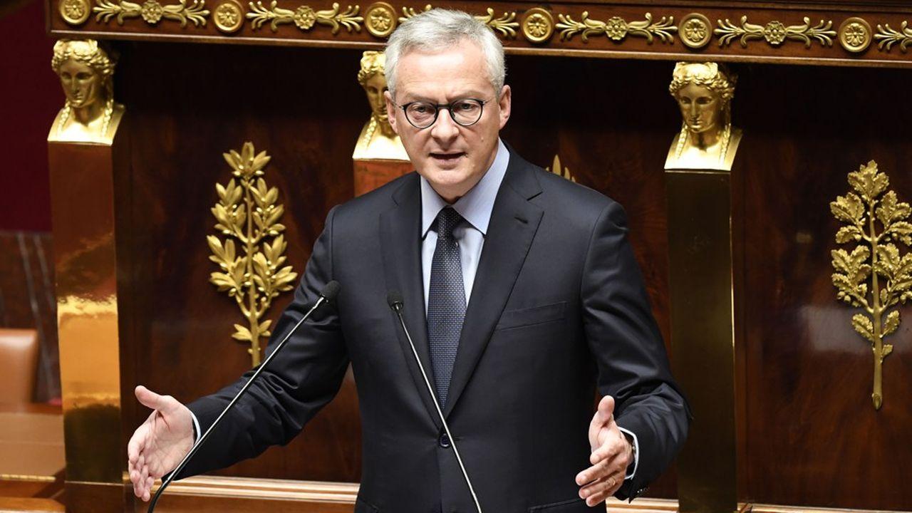 Bruno Le Maire a concédé que «la situation financière tendue» en période du Covid-19 nécessitait de «réviser la trajectoire d'économies» demandées aux chambres de commerce.