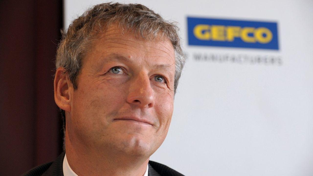 Luc Nadal, président du directoire de Gefco, l'ex-filiale logistique de PSA Peugeot-Citroën.