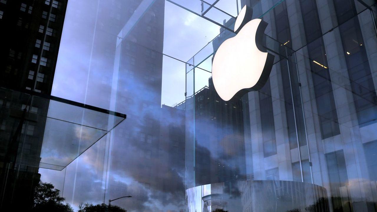 A Wall Street, la capitalisation boursière d'Apple s'élève actuellement à près de 2.080milliards de dollars