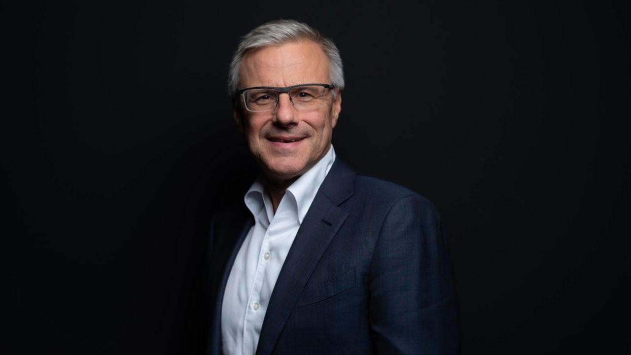 Alain Dehaze, directeur général de Adecco Group