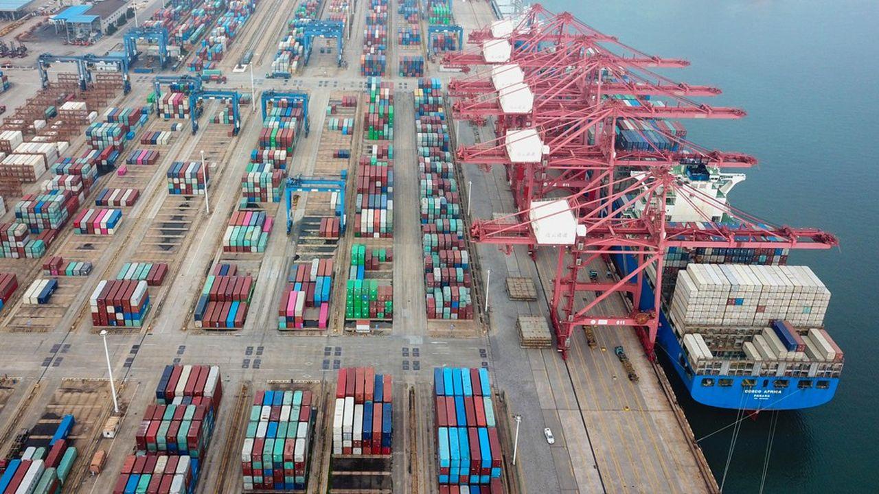En septembre, les importations chinoises ont été portées par les achats de produits agricoles et de biens liés à la technologie