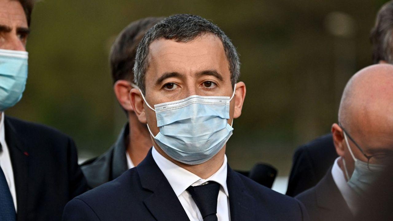 Gérald Darmanin à la rencontre des habitants de Breil-sur-Roya le 7octobre dernier.