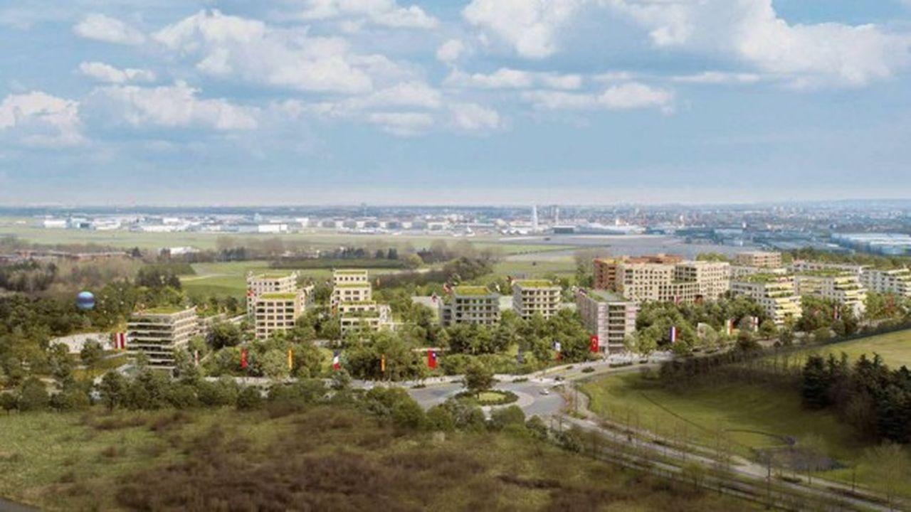 Le projet Paysage(s) du groupement Sogeprom-Demathieu Bard Immobilier, dans le secteur «Aire des Vents».