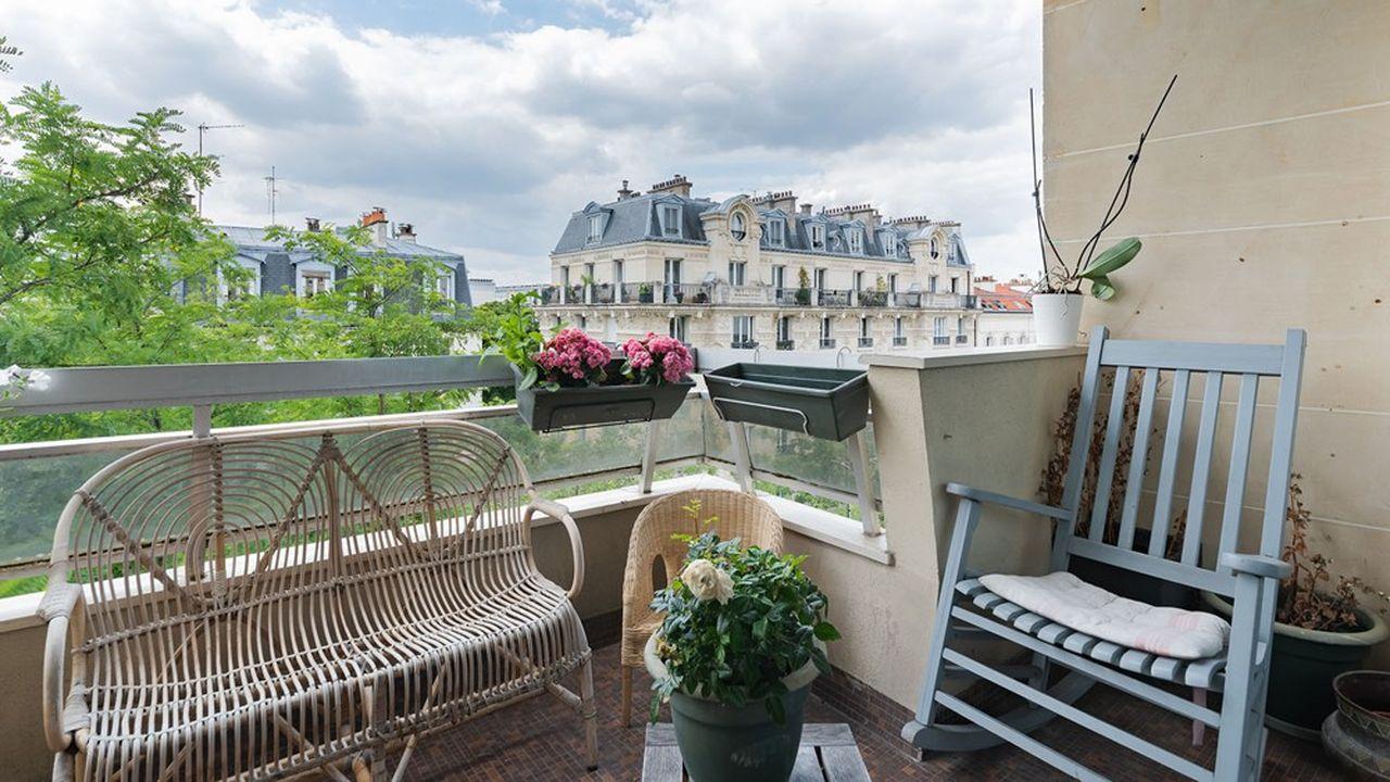 Un 75m2 avec large balcon dans le 14e arrondissement de Paris