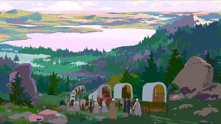Le film de Rémi Chayé contient 57.600 dessins et une bonne partie des décors et héros de la mythologie américaine.