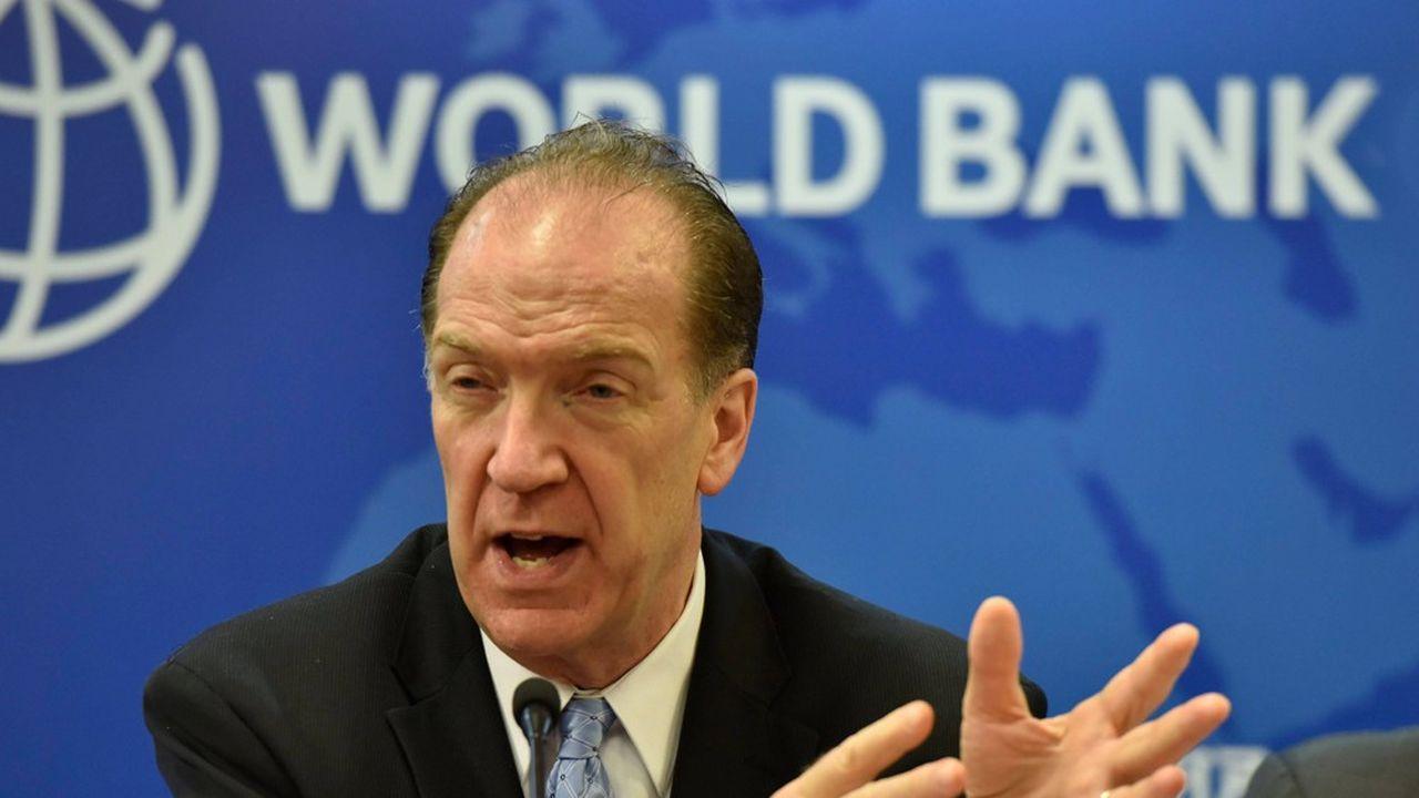 Le président de la banque mondiale, David Malpass, enjoint la Chine à participer pleinement au moratoire sur la dette des pays pauvres.