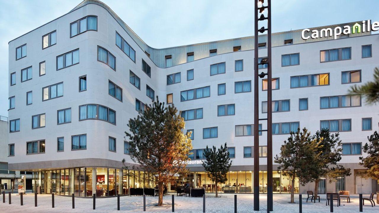 Campanile (en photo, celui situé près de la gare d'Amiens) demeure une locomotive de Louvre Hotels Group en termes de développement.