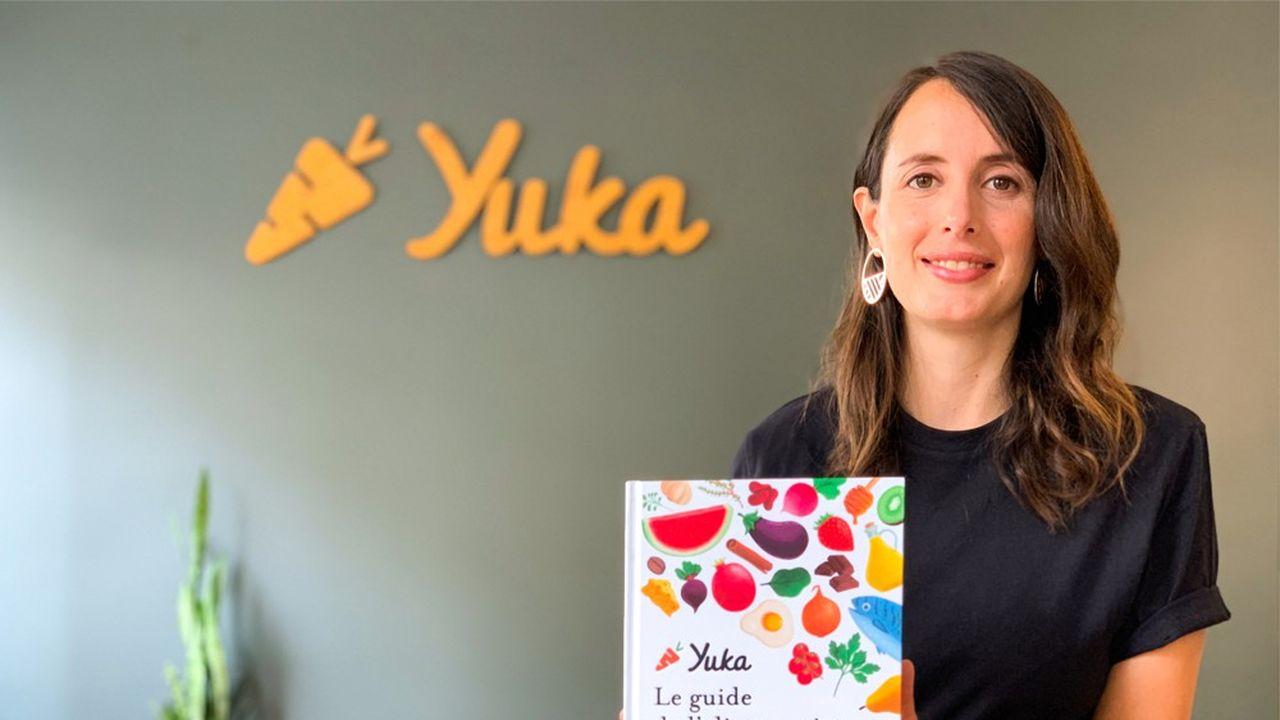 Julie Chapon, cofondatrice de Yuka.